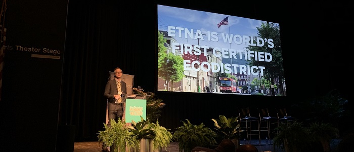 Etna is world's first ecodistrict